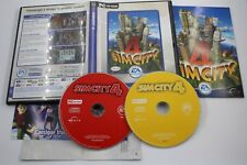 PC SIMCITY SIM CITY 4 COMPLETO PAL ESPAÑA