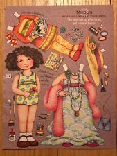 14 Mary Engelbreit Mag. Paper Doll Pages. Beautiful Artwork Incl 2 Postcard Pgs