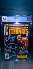 The ETERNALS 1-19 + Annual- Complete 1st Series Comics  CGC #1,2, 3 + 5 More MCU