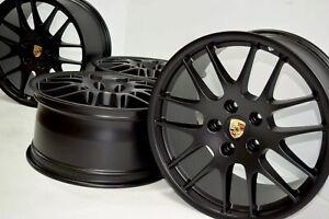 Aplique ENCASTRADO de Válvulas de Neumáticos Rueda dinámica para Porsche Panamera Turbo Mk2 17-19