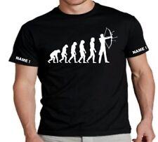Bequem sitzende Fruit of the Loom Herren-T-Shirts Evolution