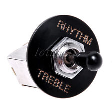 3 Way Pickup Selector Toggle Switch Box Style Knob for Gibson LP Parts