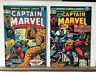 Captain Marvel 26 33 Marvel Comics 1973 1974 Jim Starlin Art 1st Thanos Cover