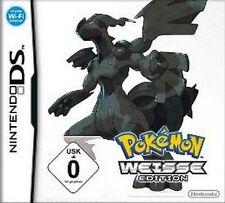 Nintendo DS POKEMON WEISSE EDITION DEUTSCH Neuwertig
