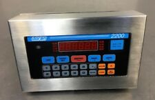 Doran 2200 Scale Display / Control Panel 115Vac 1.0 Amps 2B