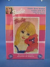 Caron Teddy Bear Barbie Latch Hook Rug Kit #BB0103