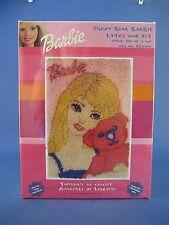 Caron Teddy Bear Barbie Latch Hook Rug Kit #Bb0103