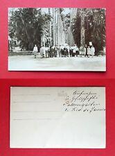 Foto AK RIO DE JANEIRO Brasilien um 1925 Platzansicht mit Typen Urlauber ( 38633