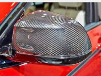 Voll Carbon Spiegelkappen Hülle Mirror Cover passend für BMW X3 X4 X5 X6 F15 F16