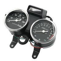 Motor Instrument Speedometer Speedo Odometer Tachometer Gauge For Suzuki GN125