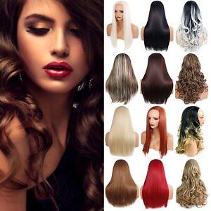 Ladies 3/4 Wig Half Fall Clip In Hair Piece 3 Styles / 50 Shades