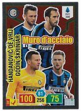 CALCIATORI ADRENALYN PANINI 2019-20 2020 CARD N.398 MURO D'ACCIAIO INTER