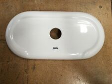 Gala Marina Ceramic Cistern Lid Only White 180mm X 355mm