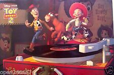 "DISNEY ""TOY STORY 2 - WOODY & FRIENDS ON RECORD TURNTABLE"" POSTER FROM ASIA"