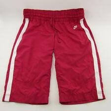 Nike Sportswear Pants Women's Size L Pink Workout Large 12-14 Capri Athletic