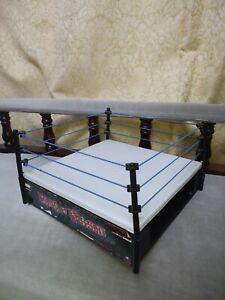 WWE WWF Hardcore Action Wrestling Ring Jakks Pacific 1998 Ring of Poison