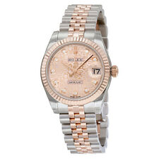 Rolex Datejust Lady 31 Pink Jubilee Dial Stainless Steel and 18K Everose Gold