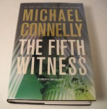 The Fifth Witness SIGNED by Michael Connelly - 1st Edition / 1st Printing (B59)