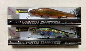 Megabass VISION110 ONETEN SHOP Limited 2pc Japanese Jerkbait Japan Only Color ●