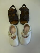 Baby Girls Colorado Size 4 Sandals & Genuine Kids Size 3 White Dress Shoes
