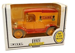 Die Cast Ertl 1913 Model T Ford Bank Case 1:25 Scale new in package