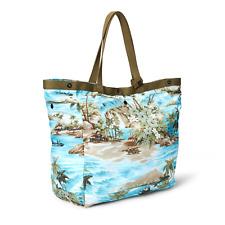 $395 Double Ralph Lauren RRL Packable Mens Womens Hawaiian Tote Shoulder Bag