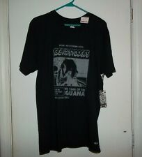 NWT - IGGY AND THE STOOGES - LIVE IN NEW YORK 1973 - BLACK TSHIRT - LARGE