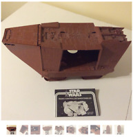 VINTAGE 1979 STAR WARS JAWA SAND CRAWLER KENNER - RARE & MUST-HAVE ITEM!