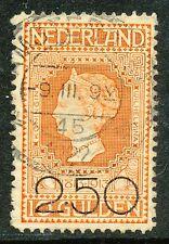 NEDERLAND 1920 2.50 Gld op 10 Gld JUBILEUM 1913 - GEBRUIKT            Hk613k