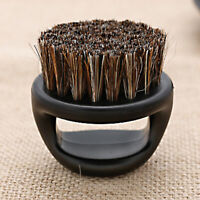 Useful Barber Finger Ring Fade Brush & Beard Brush #HD3