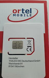 Ortel 90GB Prepaid-SIm LTE -direkt loslegen-