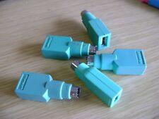 PS/2 to USB Adapters - LOT of FIVE with FREE DELIVERY