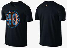Nike Air Joran Spike 40 Black Graphic T- Shirt Men's Size Large