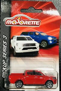 Majorette Pickup Series 3 Toyota Hilux Red