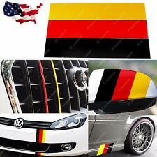 "10"" German Flag Color Stripe Decal Sticker For Car Exterior/Interior Decoration"