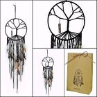 NEW Handmade Dream Catcher Tree Of Life Beads Feather Wall Hanging Ornament Gift