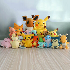 UK Pokemon Collectible Plush Character Soft Toy Stuffed Doll Teddy Gift