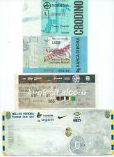 Biglietti stadio tickets calcio football Juventus in Campionato