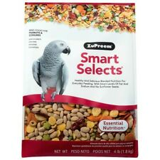 ZUPREEM SMART SELECTS - MEDIUM/LARGE COMPLETE PARROT FOOD - 4LB