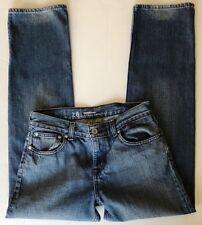 QUICKSILVER JEANS Womens Size 28 Straight Fit Blue 100% Cotton