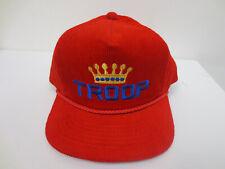 TROOP HAT CAP SNAPBACK VINTAGE RETRO VTG CREW MENS LL COOL J CORDUROY TRUCKER