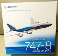 BOEING 1/400 Scale Model 747-8i INTERCONTINENTAL PREMIER COLLECTION Airplane