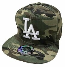 LOS ANGELES LA SNAPBACK CAP KAPPE BASECAP MÜTZE HIP HOP TRUCKER CAPPY CAMOFLAGE