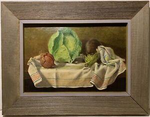 CAROL GUNDY GUSKEY 20th c. American WISCONSIN WI ARTIST Still Life Painting