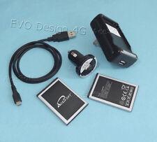 Travel Car Charger 2280mAh Battery Data For HTC EVO Design 4G Hero Kingdom Phone