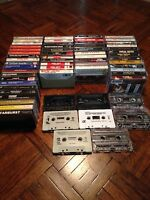 Cassette Tapes Lot Of 62 Unique Mix Of Various Old School Artists.
