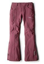 Women's Oakley GB Gretchen Bleiler Soft Shell Snow Ski Snowboard Pants Purple L