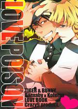 Tiger and & Bunny doujinshi Barnaby (Bunny) x Kotetsu (Wild Tiger) Love Poison
