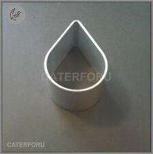 ROSE FLOWER PETAL CUTTER TEAR DROP METAL SUGARCRAFT BISCUIT CAKE DECORATING CLAY
