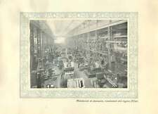 1920 Italy Milan Manufacture Of Alternators Transformers And Engines